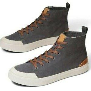 TOMS Men's Travel Lite High-Top Canvas Sneakers